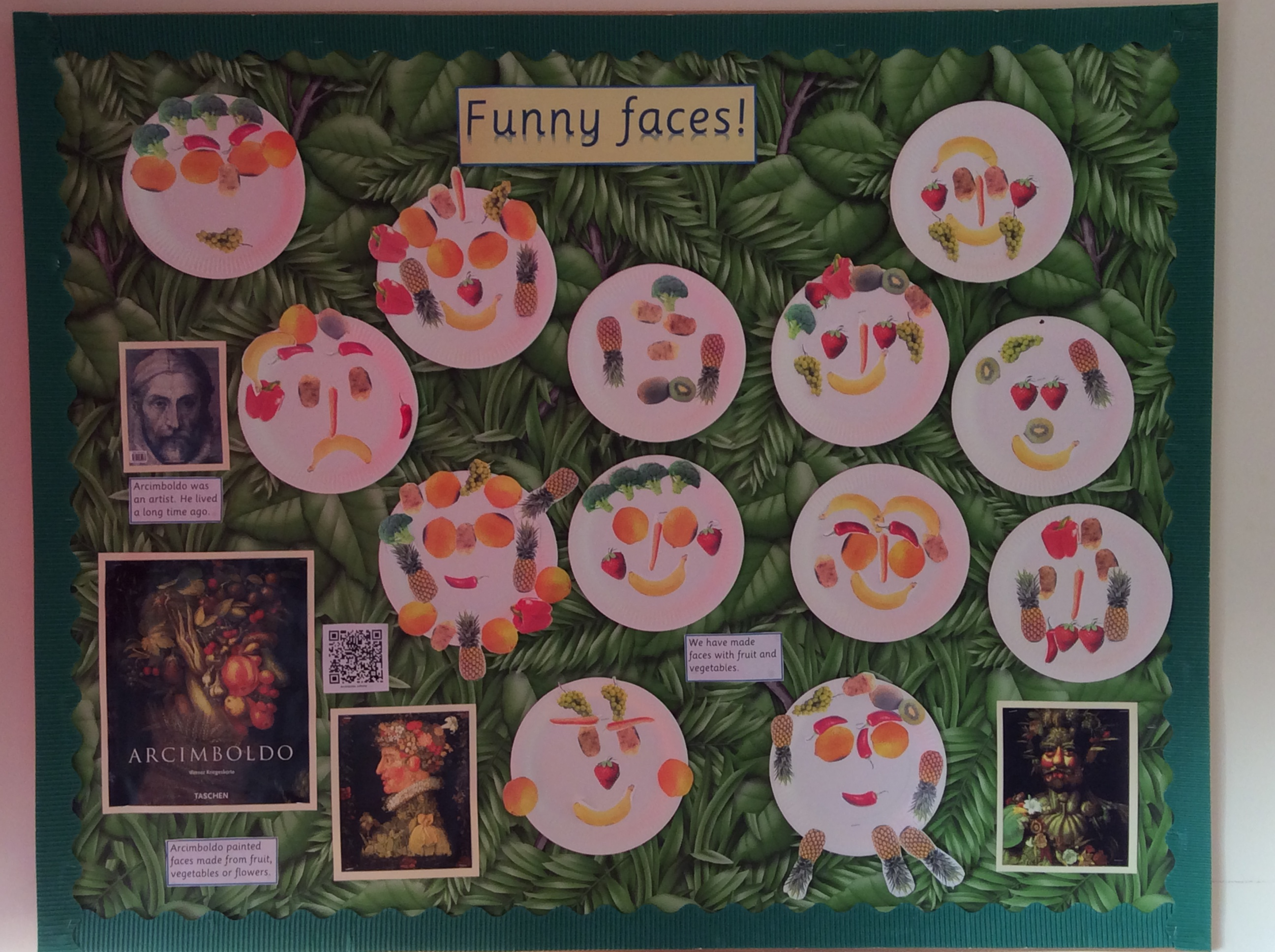 Funny Faces Display